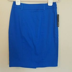 Apt 9 skirt dressy with belt loops pencil style